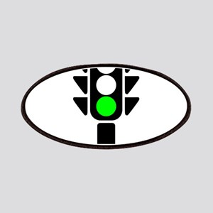 Green Light Stoplight Patches