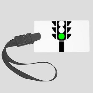 Green Light Stoplight Luggage Tag