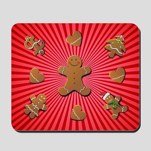 Gingerbread Cookies Mousepad
