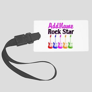 ROCK STAR Large Luggage Tag