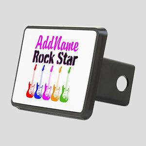 ROCK STAR Rectangular Hitch Cover