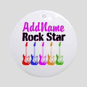 ROCK STAR Ornament (Round)