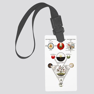 Alchemical Heaven Large Luggage Tag