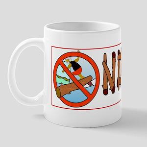 no-logs-bumper-sticker Mug