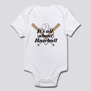 Its all about Baseball Infant Bodysuit