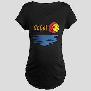 socal Maternity Dark T-Shirt