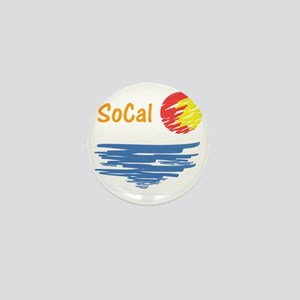 socal Mini Button