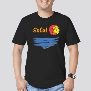 socal Men's Fitted T-Shirt (dark)