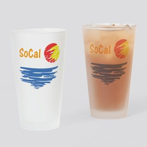 socal Drinking Glass