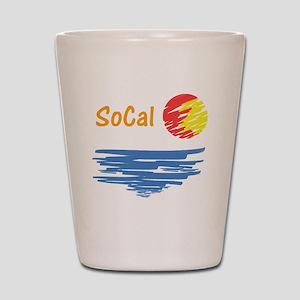socal Shot Glass