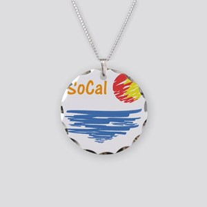 socal Necklace Circle Charm