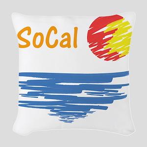 socal Woven Throw Pillow