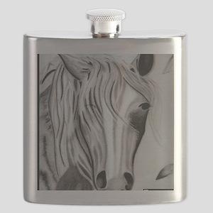 Whimsical Horse Flask