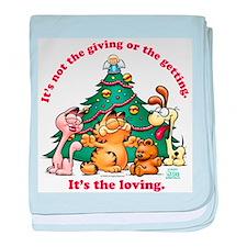 It's The Loving baby blanket