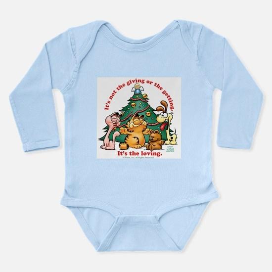 It's The Loving Long Sleeve Infant Bodysuit