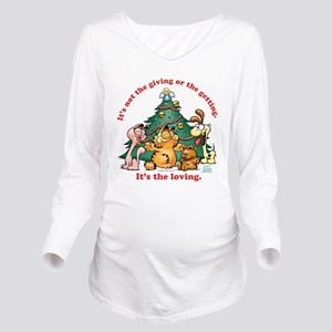 It's The Loving Long Sleeve Maternity T-Shirt