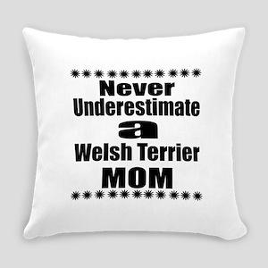 Welsh Terrier Mom Everyday Pillow