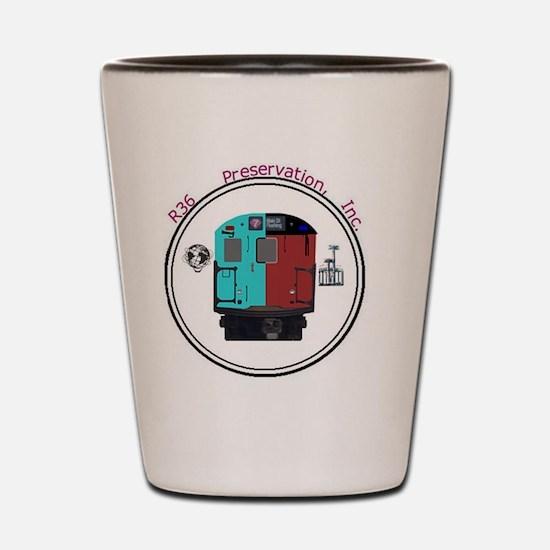 R36 Logo Shot Glass