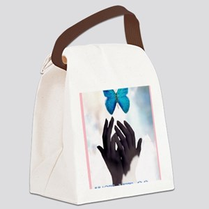 JUST LET GO Canvas Lunch Bag