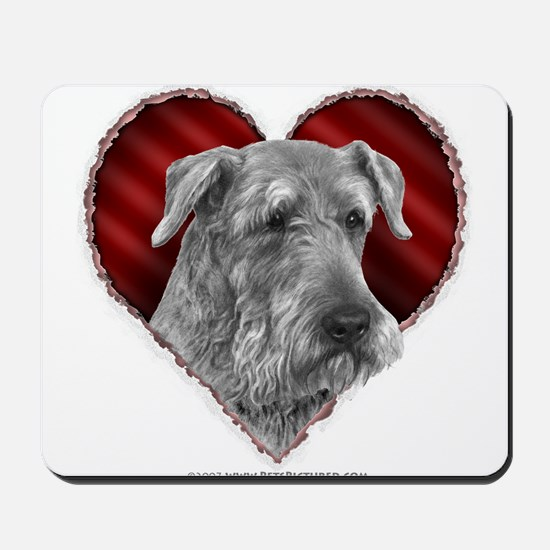 Airedale Valentine Mousepad