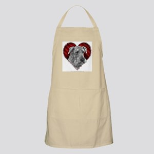 Airedale Valentine BBQ Apron