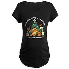 It's The Loving Maternity Dark T-Shirt