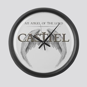 Supernatural CASTIEL Angel Wings Large Wall Clock