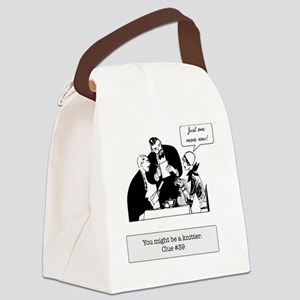 finish row at restaurant Canvas Lunch Bag