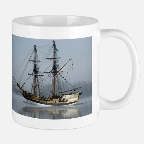 Tallboat on the Columbia Mug