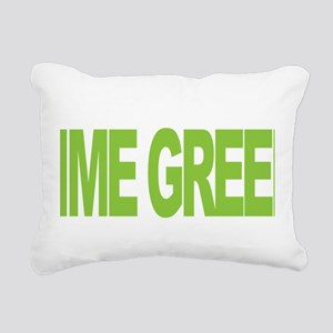 NH-Lymphoma-Think-LG-blk Rectangular Canvas Pillow