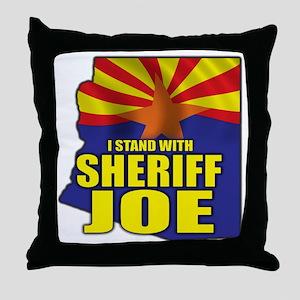 sheriff_joe_shirt_cp3 Throw Pillow