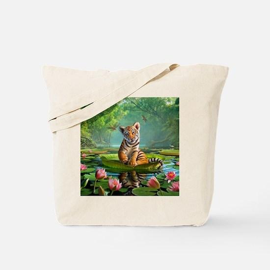 JL_Tiger Lily Tote Bag