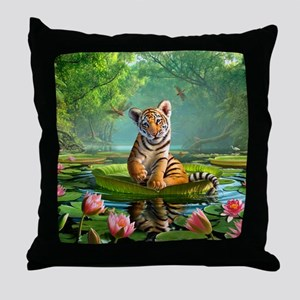 JL_Tiger Lily Throw Pillow