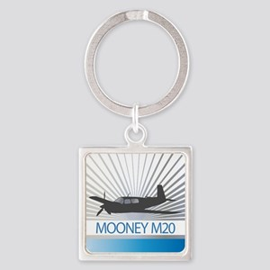 Aircraft Mooney M20 Keychains