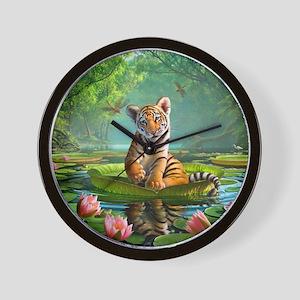 JL_Tiger Lily Wall Clock