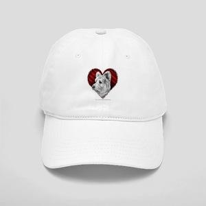 Westie Valentine Cap
