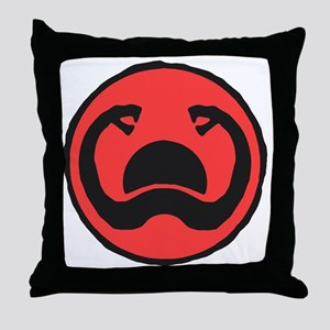 2-Thulsa_Doom_Symbol_by_Hartter Throw Pillow