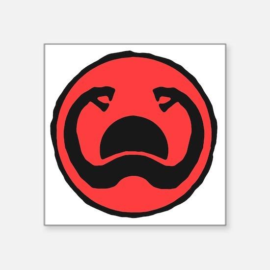 "2-Thulsa_Doom_Symbol_by_Har Square Sticker 3"" x 3"""