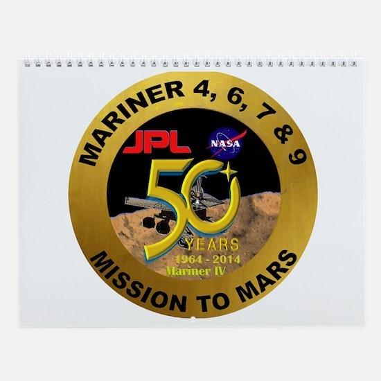 Mariner IV 50Th Annivesary Wall Calendar