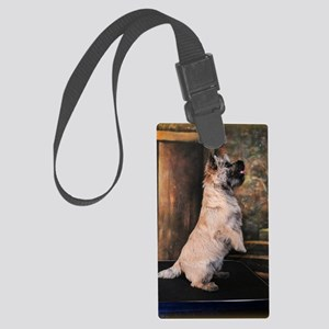 Pippen5Sittingpretty2 Large Luggage Tag