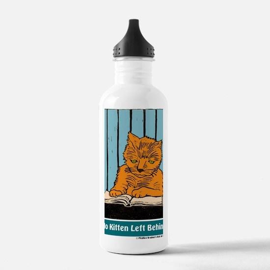 No Kitten t-shirt Water Bottle