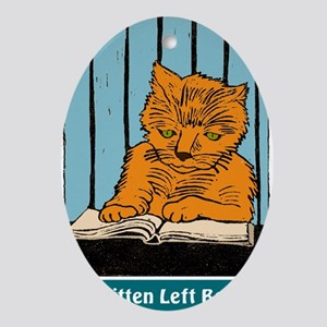 No Kitten t-shirt Oval Ornament