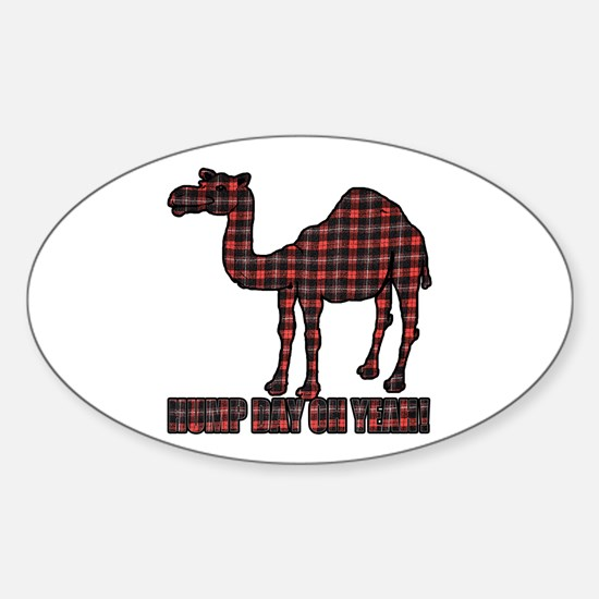 Camel humor 5 Sticker (Oval)