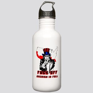 America Is Full Stainless Water Bottle 1.0L