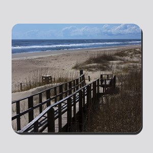North Carolina Beach Walkway Mousepad