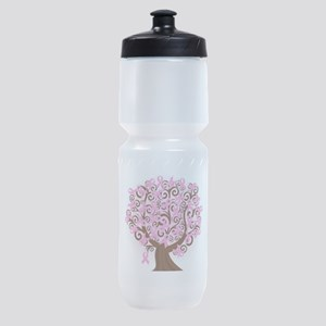 The Tree of Life...Breast Cancer Sports Bottle