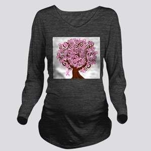 The Tree of Life...Breast Cancer Long Sleeve Mater