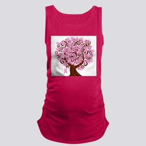 The Tree of Life...Breast Cancer Maternity Tank To