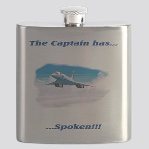 the captain has spoken Flask