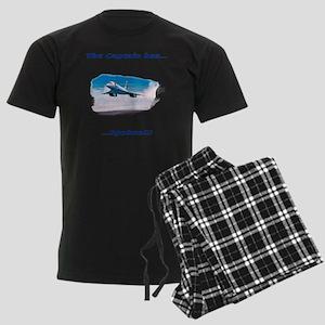 the captain has spoken Men's Dark Pajamas